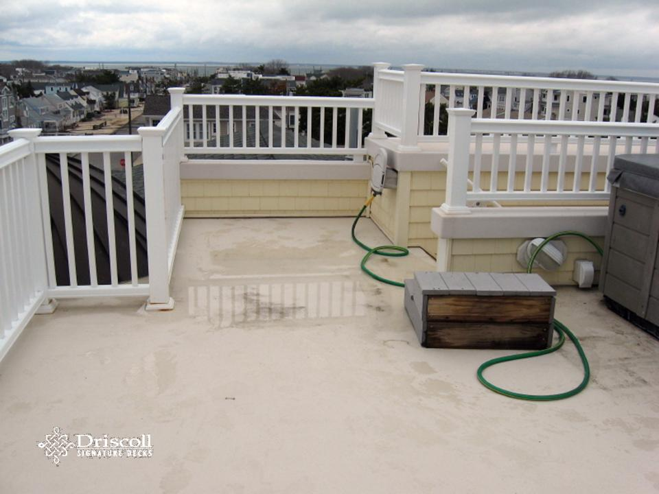 The Wonderful Rooftop Deck (with A Spa, Too Boot!) Was Not Pitched For The  Water To Run Off, It Wasnu0027t Even Built Flat (not To Be Confused W/level) So  The ...